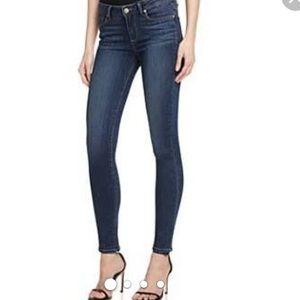 Paige Skyline Skinny Dark Wash Jeans Size 26